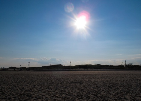 Afternoon Sun at Jacob Riis Park, Rockaway Beach - Queens, NYC